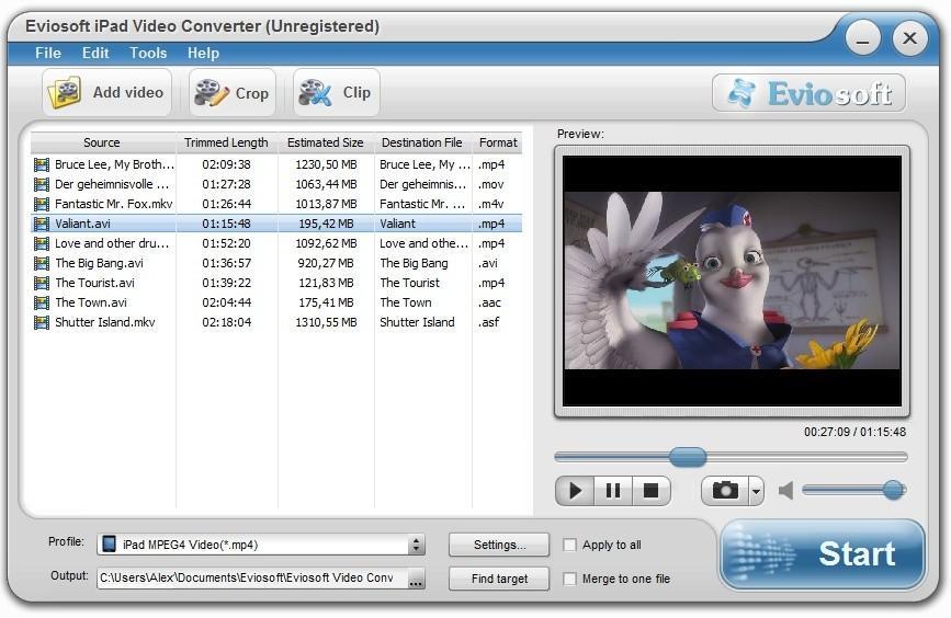 Eviosoft iPad Video Converter