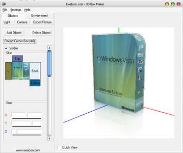 ExeIcon.com 3D Box Maker