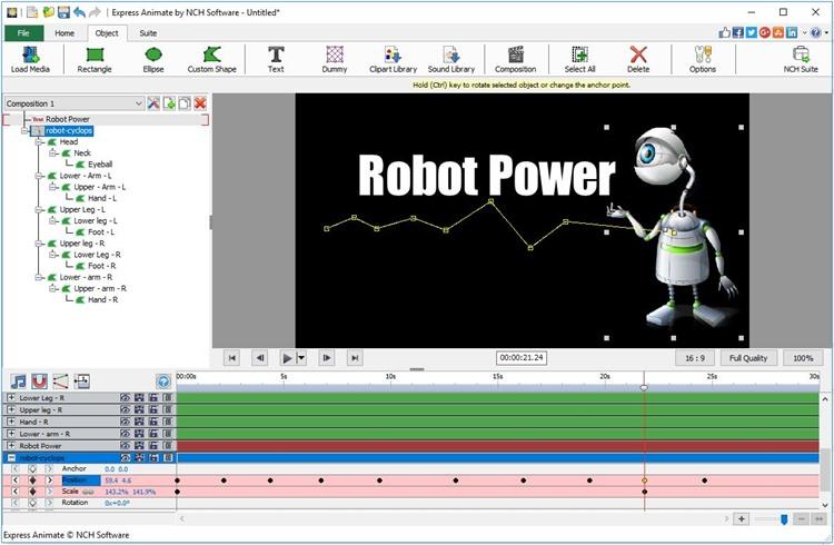 Express Animate Animation Free