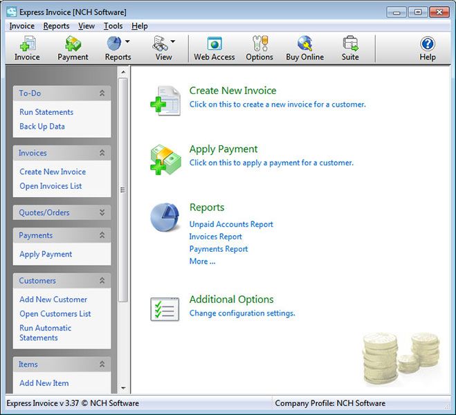 Express Invoice Free Invoicing Software