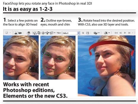 FaceShop Photoshop plug-in
