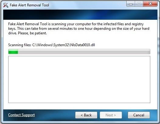 Fakealert Removal Tool