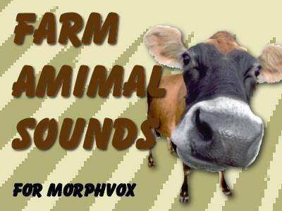 Farm Animal Sounds - MorphVOX Add-on