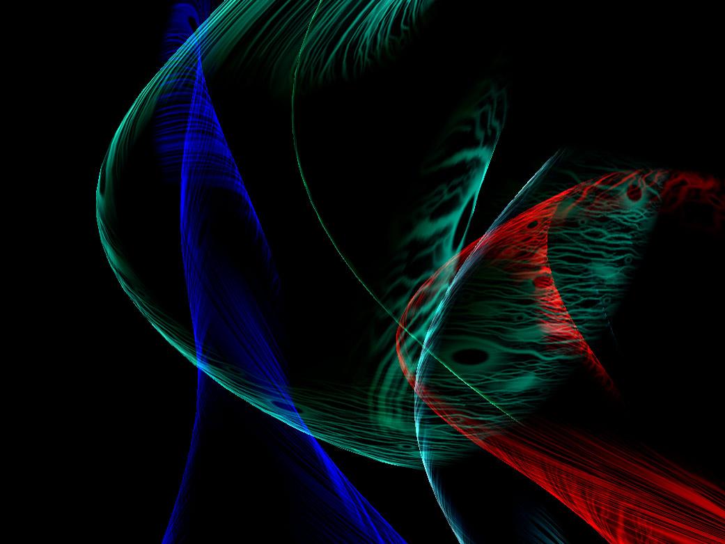 Fields 3D Rainbow ScreenSaver