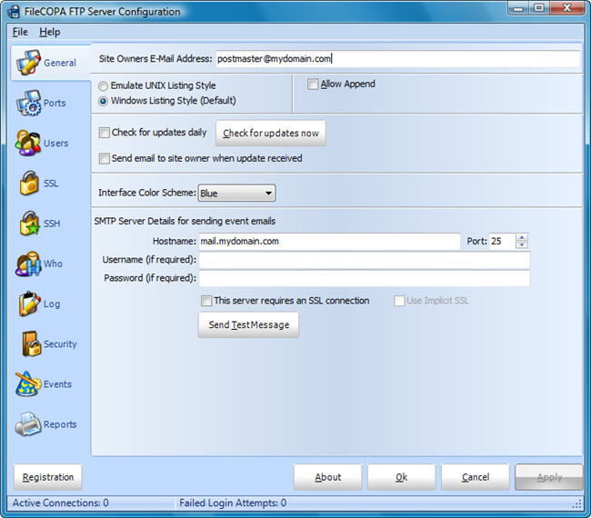 FileCOPA FTP Server