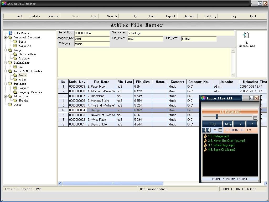 File Encryption - AthTek File Master