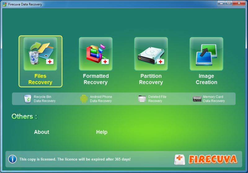 FireCuva Data Recovery 2 Years License