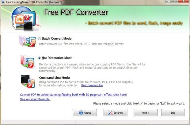 FlashCatalogMaker Free PDF Converter