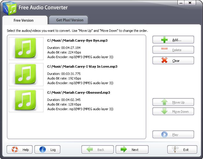 Free Audio Converter 2011