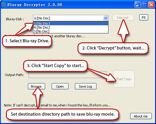 Free Blu-ray Decrypter