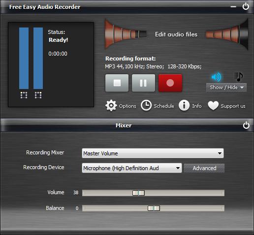 Free Easy Audio Recorder