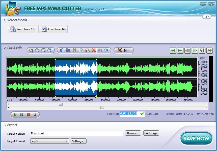 Free MP3 Cutter Ultimate