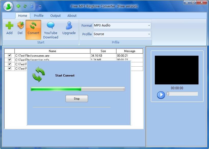 Free MP3 Ringtone Converter