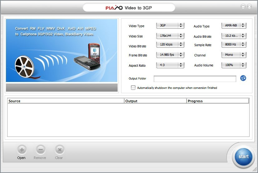 Free Mac 3GP Video Converter