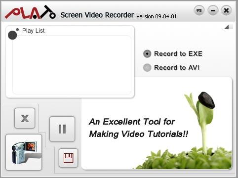 Free Plato Screen Video Recorder