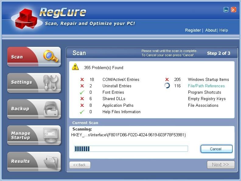 Free Registry Cure 2010