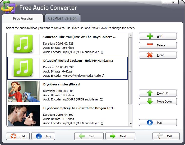 Free WMA WAV MP3 Converter