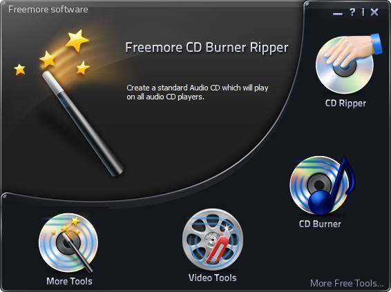 Freemore CD Burner Ripper