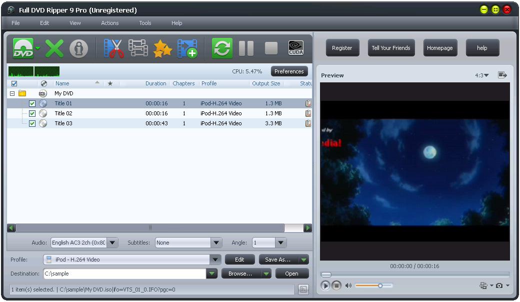 Full DVD Ripper Free