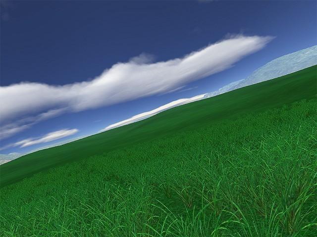 Green Fields 3D screensaver