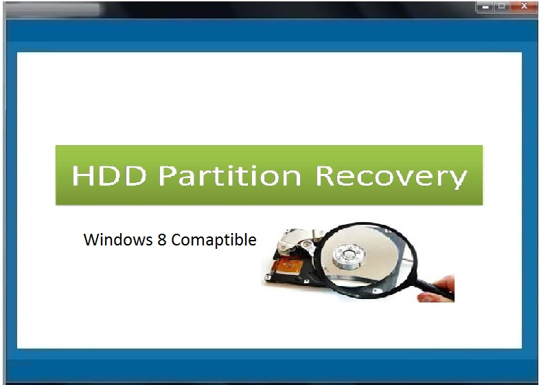 HDD Partition Recovery