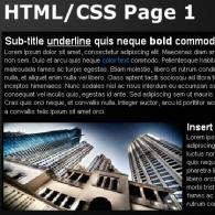 HTML/CSS Page Renderer AS2