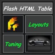 HTML Table Renderer AS 3.0