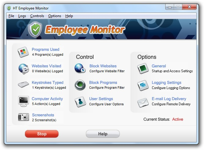 HT Employee Monitor