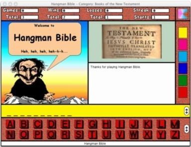 Hangman Bible for the Macintosh