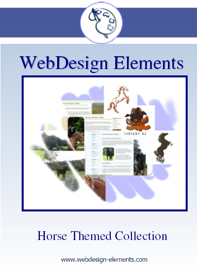 Horse and Equestrian Web Elements