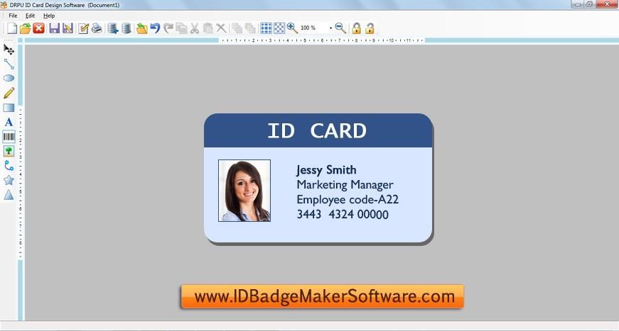 ID Badge Maker Software