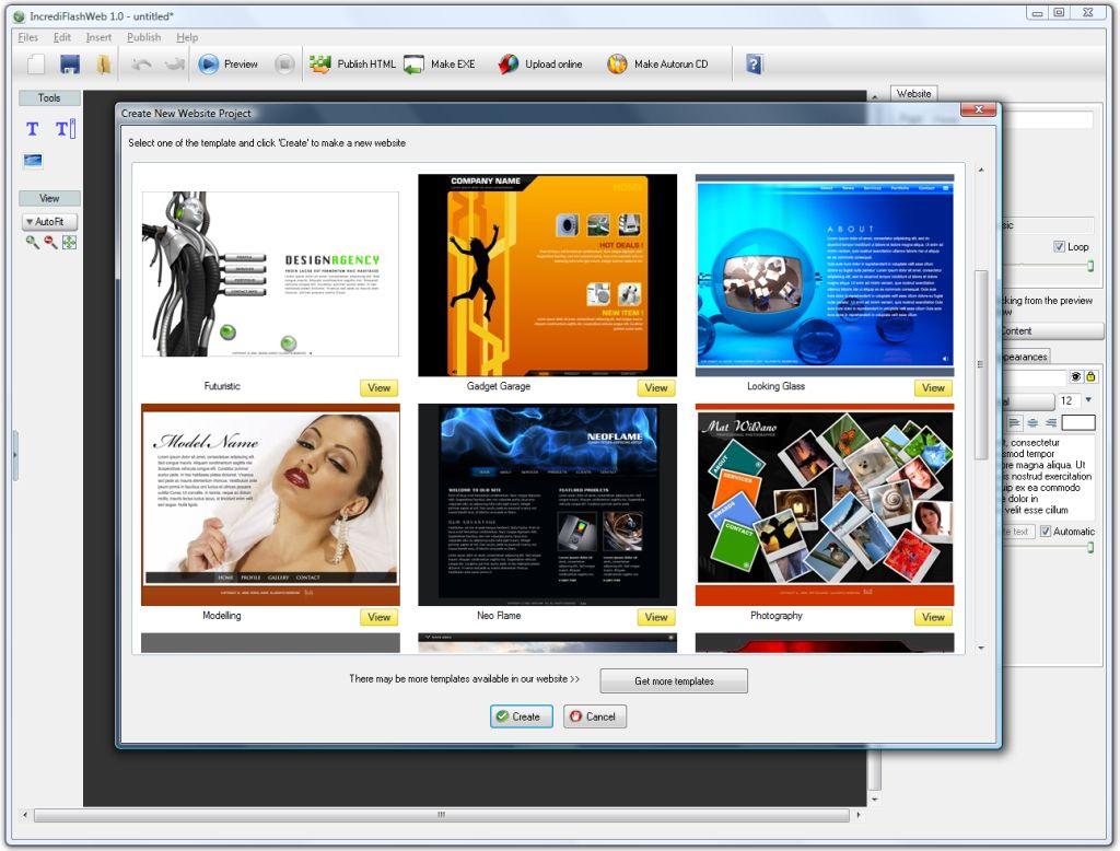 IncrediFlash Website Template