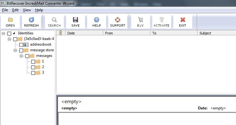Incredimail File Reader