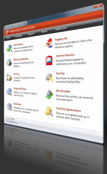 Infibia Easy Tools for Vista