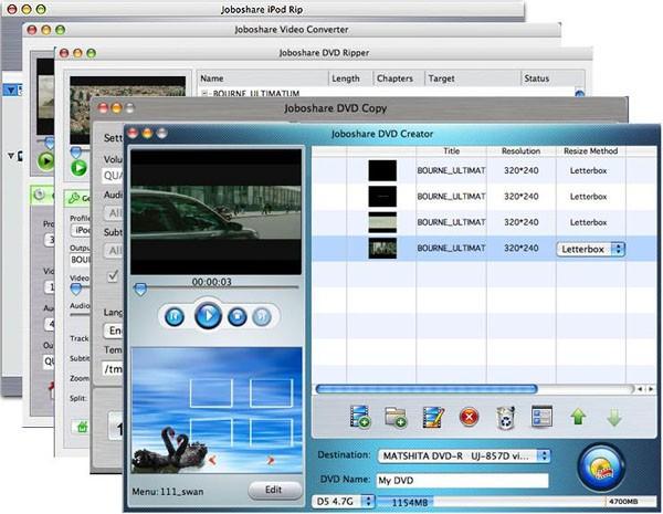 Joboshare Mac DVD Toolkit