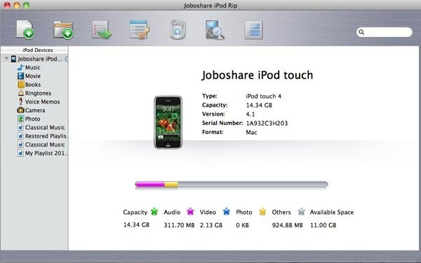 Joboshare iPod Rip for Mac