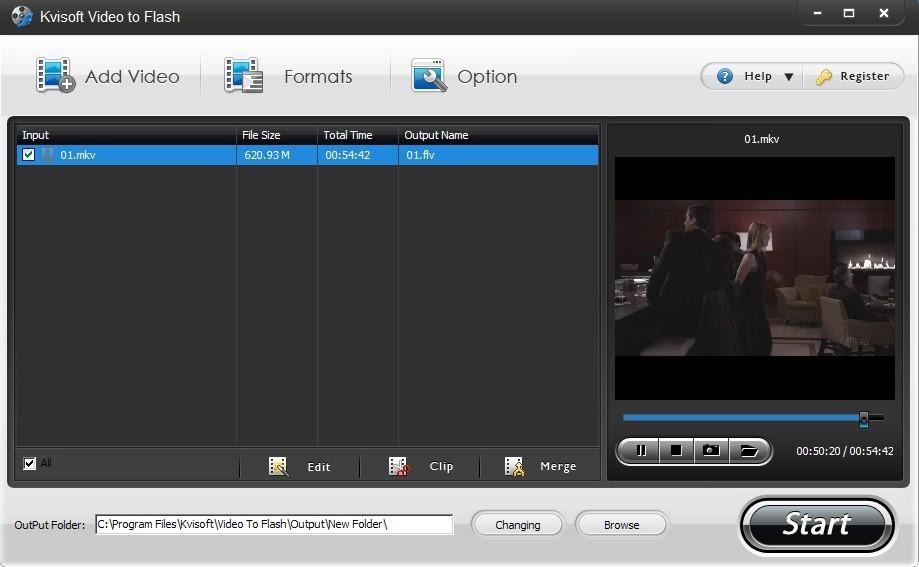 Kvisoft Video to Flash