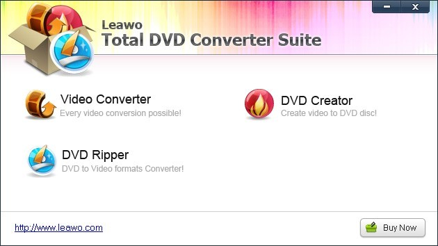 Leawo Total DVD Converter Suite