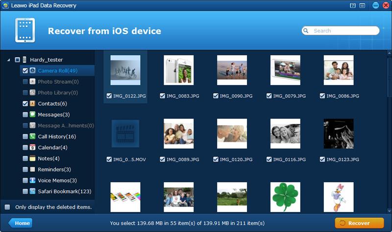 Leawo iPad Data Recovery