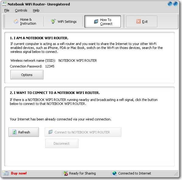 Lenovo Notebook WiFi Router