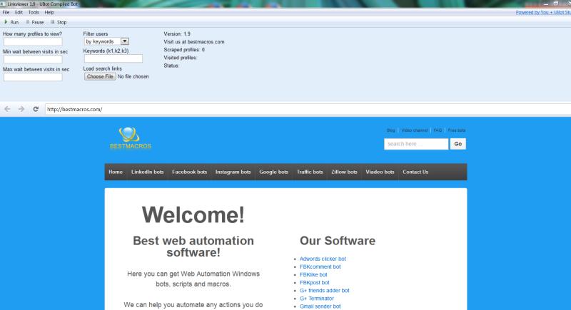 Linkviewer bot