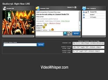 Live Webcam Video Streaming Script
