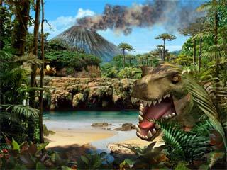 Living 3D Dinosaurs
