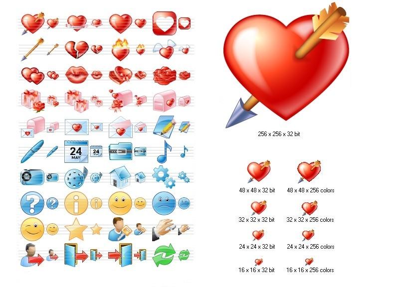 Love Icon Set