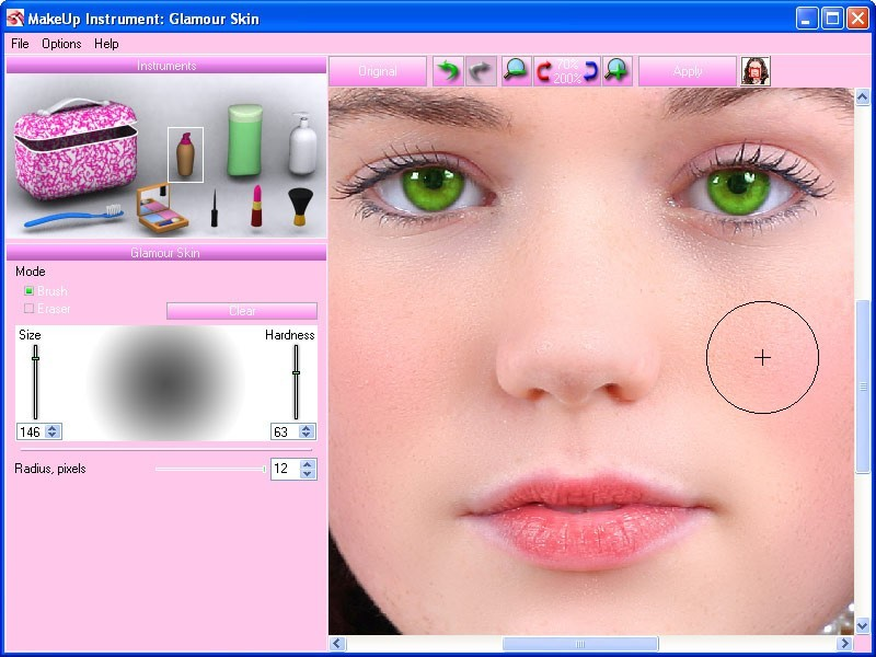 Free Makeup Online Photo Editor