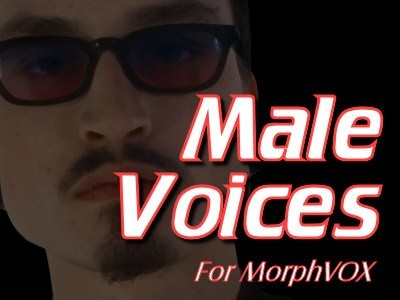 Male Voices - MorphVOX Add-on