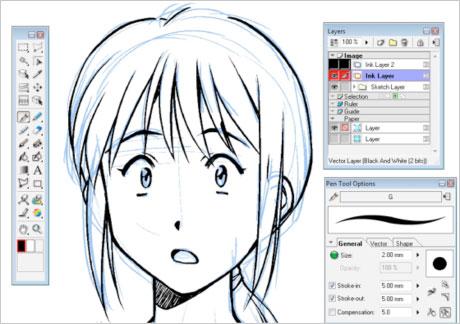 Manga Studio EX Windows