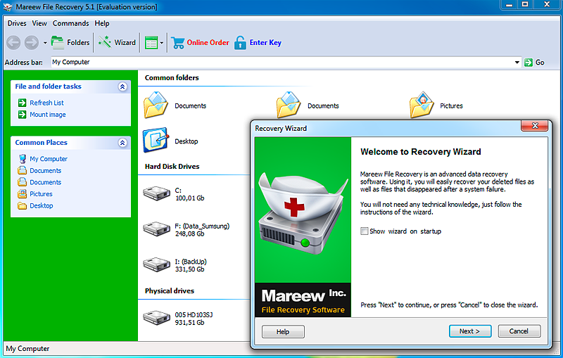 Mareew File Recovery
