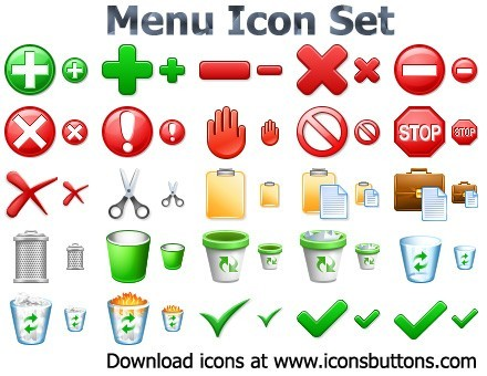 Menu Icon Set