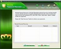 Miranda Password Recovery